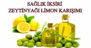 zeytinyağı limon karışımı